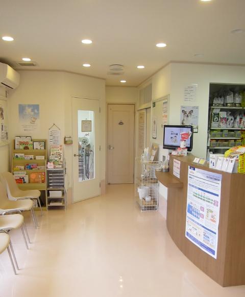 千葉県木更津市【はとりの動物病院】待合室